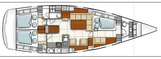 architecture intérieure Idra voile